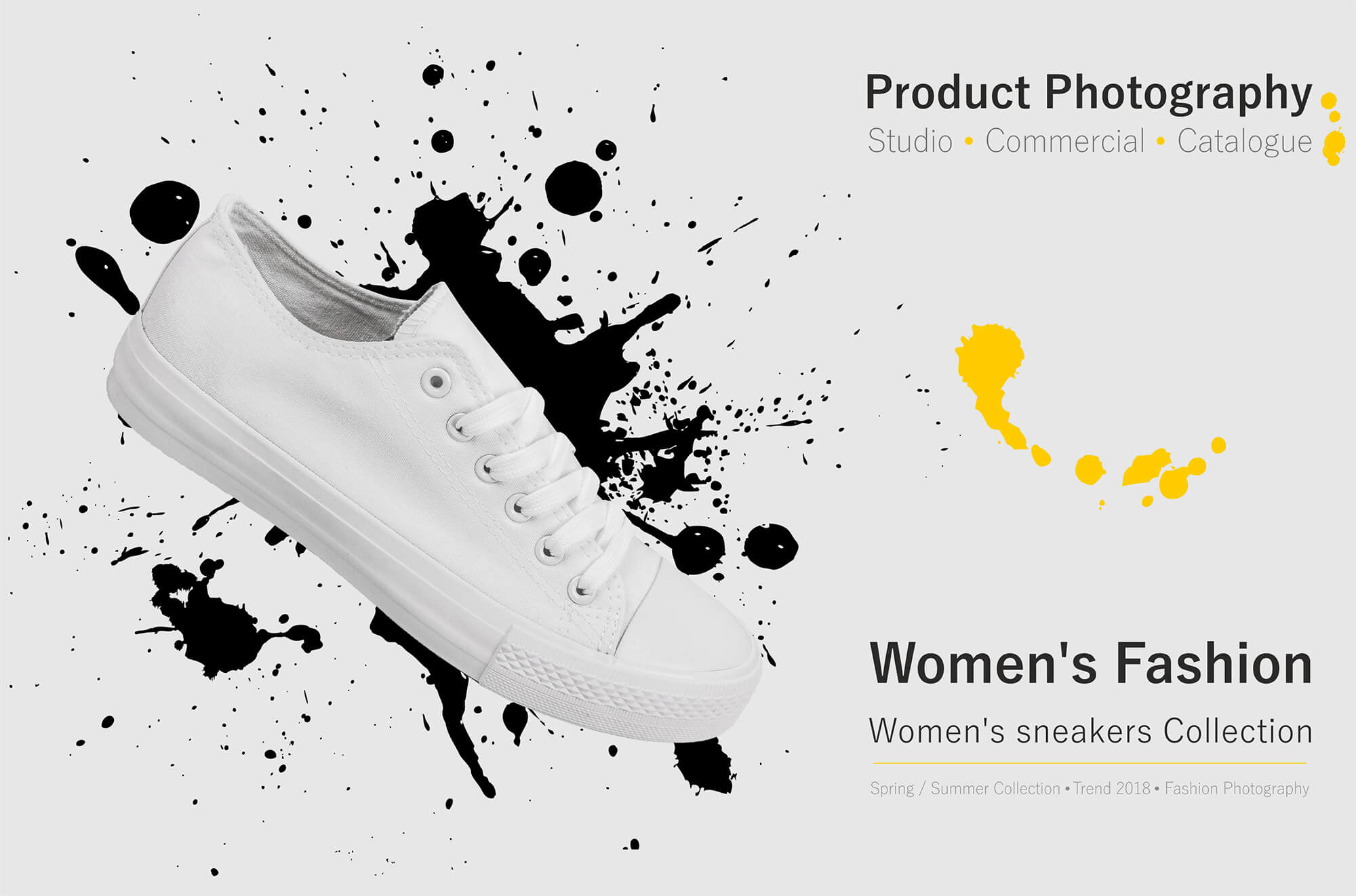 Sneakers product photography veronica popova 1